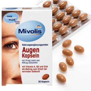 Комплекс витаминов для глаз Mivolis Augen 30 шт Германия