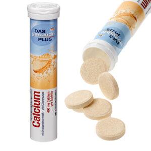 Шипучие таблетки Mivolis Кальций 20 шт Германия