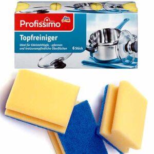 Губки для посуды DenkMit Profissimo 6 шт