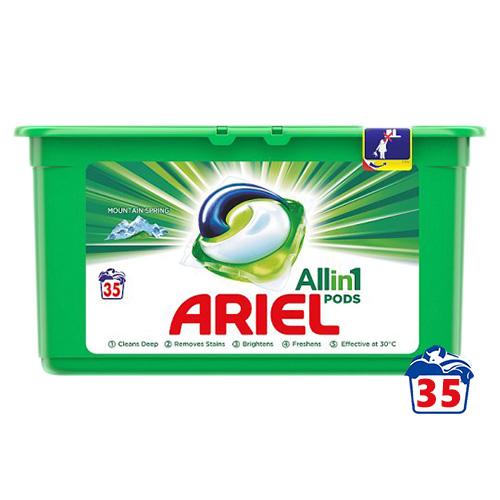 Капсулы для стирки Ariel All in 1 Universal 35 шт