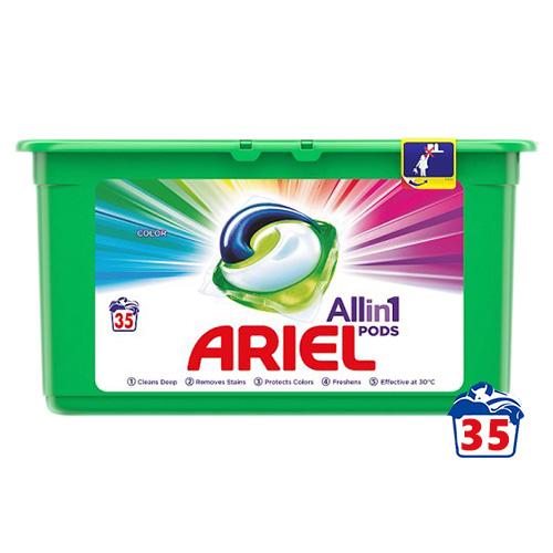 Капсулы для стирки Ariel All in 1 Color 35 шт
