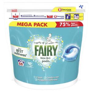 детские капсулы для стирки Fairy Non Bio