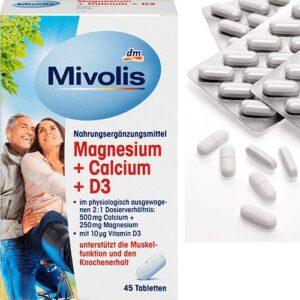 Комплекс витаминов Магний, Кальций и D3