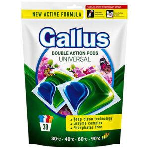Капсулы для универсальной стирки GALLUS Universal