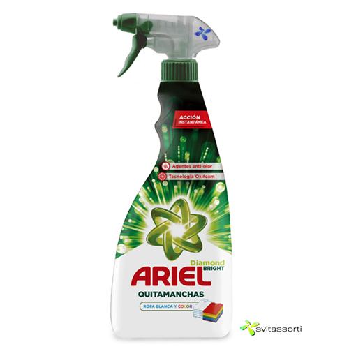 Пятновыводитель Ariel stain remover diamond bright