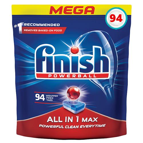 Таблетки для посудомойки Finish All in One MAX