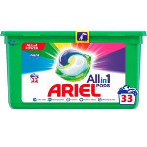 Капсулы для стирки Ariel All in 1 Color