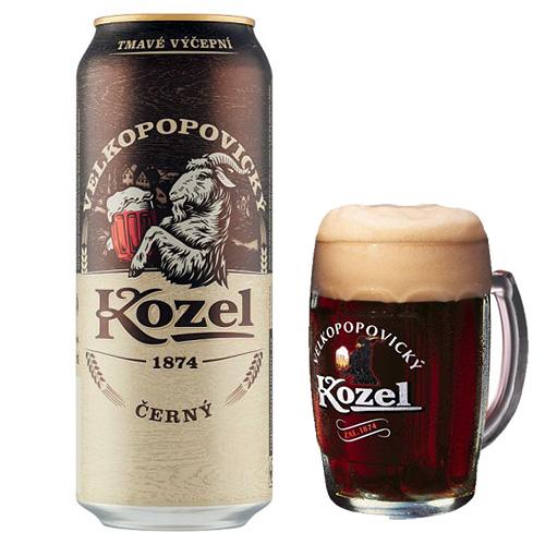 Пиво Velkopopovický Kozel Černý
