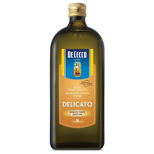 Масло оливковое De Cecco Delicato Extra Vergine 1л